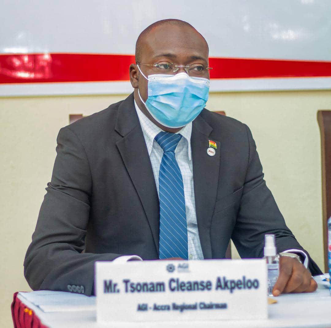 Tsonam Akpeloo re-elected Accra AGI Chairman